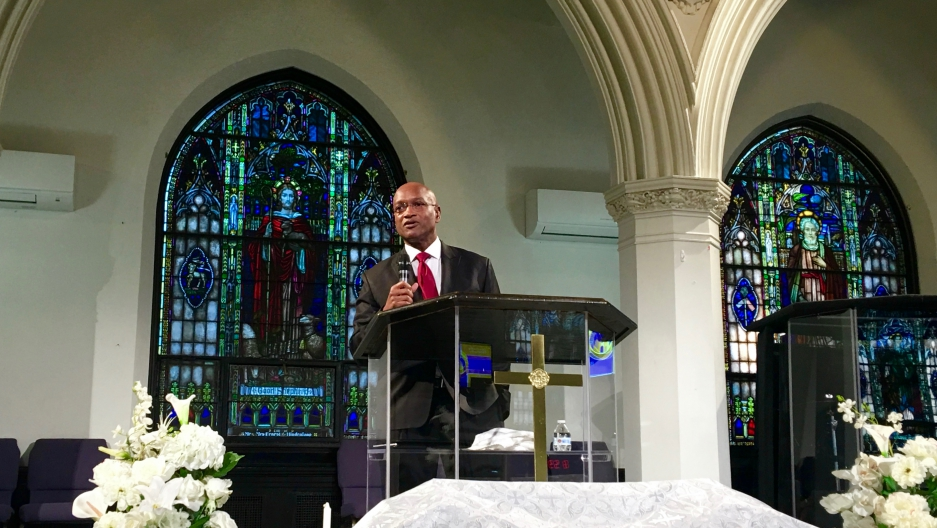 Rev. Ray Hammond says Bethel AME Church really has no choice but to provide sanctuary for an undocumented immigrant from El Salvador.