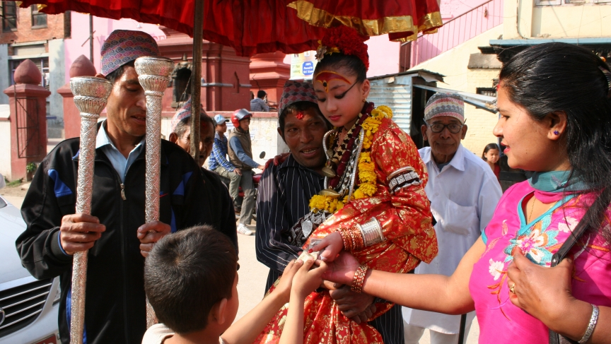 Living Goddess in Nepal