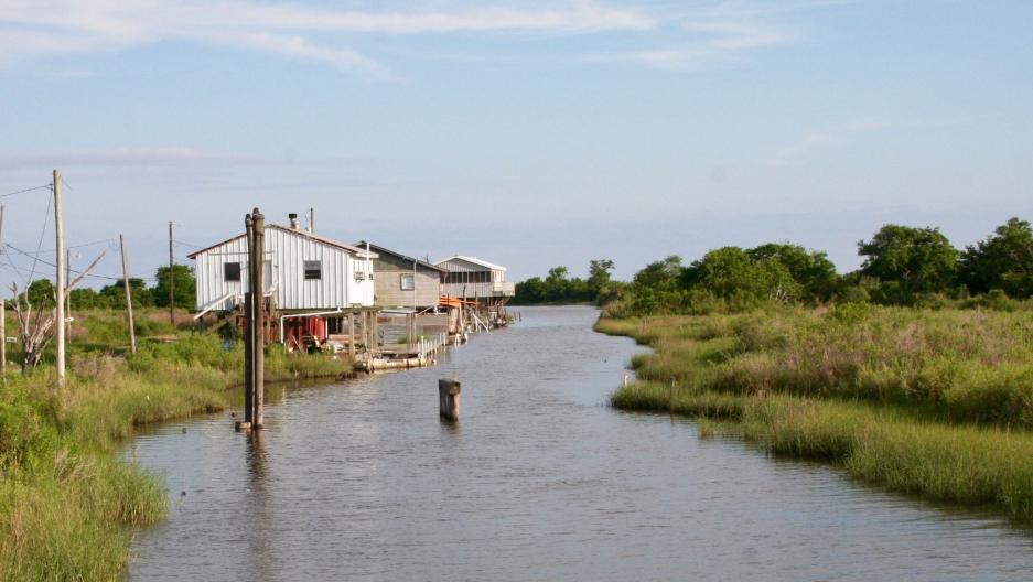 Louisiana's Isle de Jean Charles.