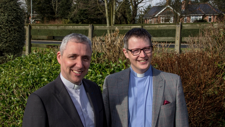 Paul Farren, who's Catholic, and Robert Miller, who's Protestant, hope their new book can get people talking about forgiveness. They say it's the only way to live in true peace.