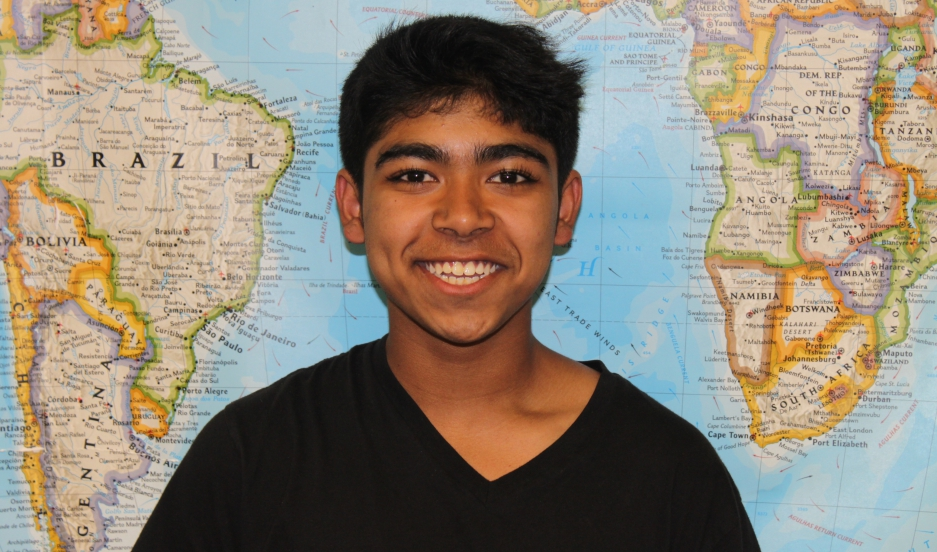 Eighth grader Tanzid Sakib goes to public school in Cambridge, Massachusetts. He arrived from Bangladesh at the age of 10.