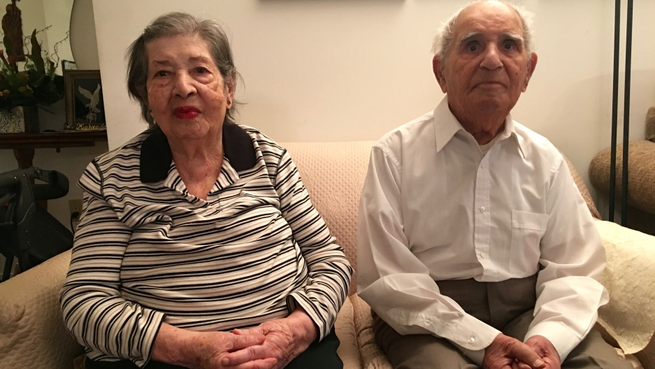 Ashraf Mohyeddin just turned 100 and her husband Mohammad in 110. They were born in Tafresh, in the mountains of central Iran and today they live in Toronto.