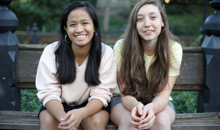 Andrea Gonzales and Sophie Houser