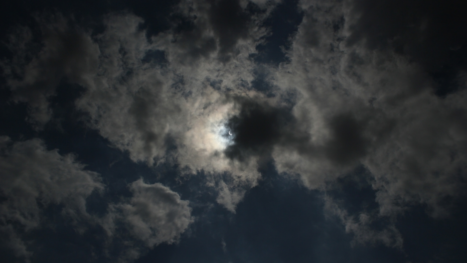 A view of the eclipse on Sept. 1, 2016.