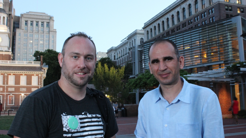 Lawrence Davidson and Yaroub Al-Obaidi crossed paths in Iraq.