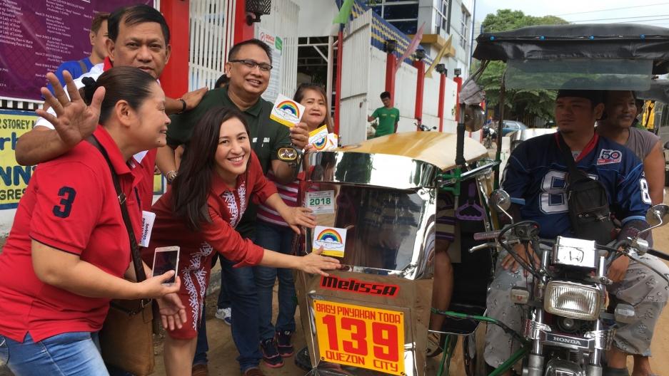 Quezon City Vice Mayor Joy Belmonte