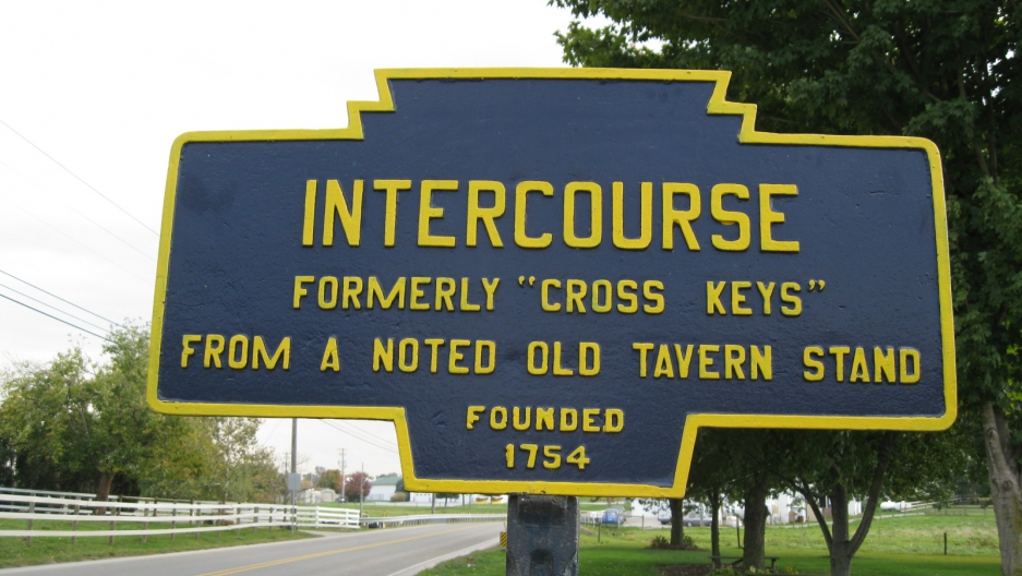 Wait, you're from where? 11 towns and cities with suggestive names