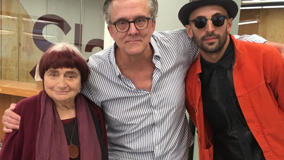 Agnès Varda and JR