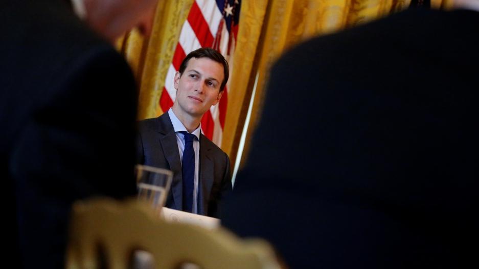 White House senior adviser Jared Kushner in the East Room at the White House, June 22, 2017.