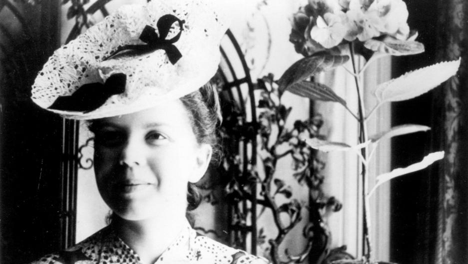 Jeannie Rousseau (de Clarens), in 1939 or 1940.