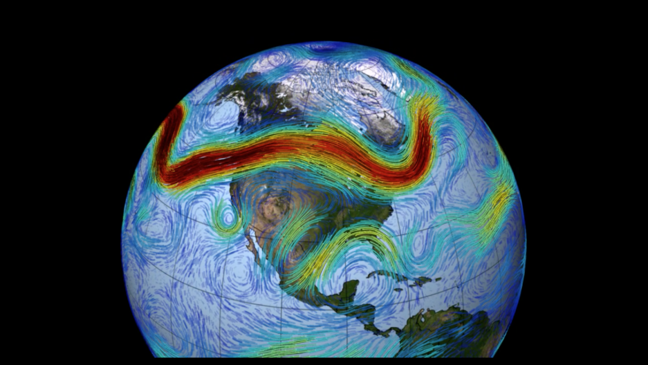 The Polar jet stream carries weather systems around the northern hemisphere. It's powered by the temperature differential between the Arctic and areas farther south, but new research finds that it's being disrupted as rapid warming in the Arctic reduces t