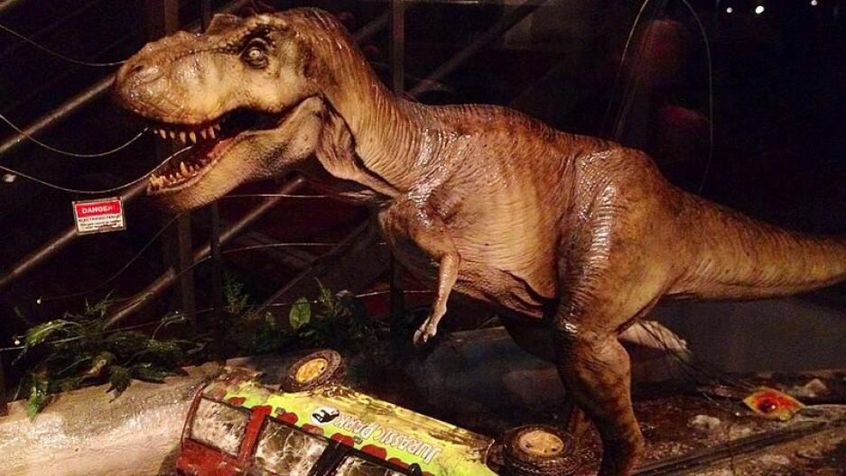 Jurassic Park scene