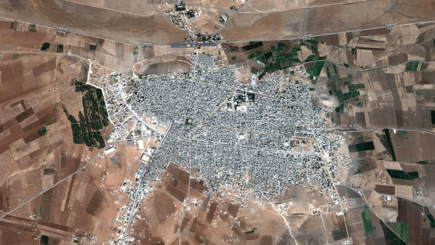 Kobane sits right on the border with Turkey