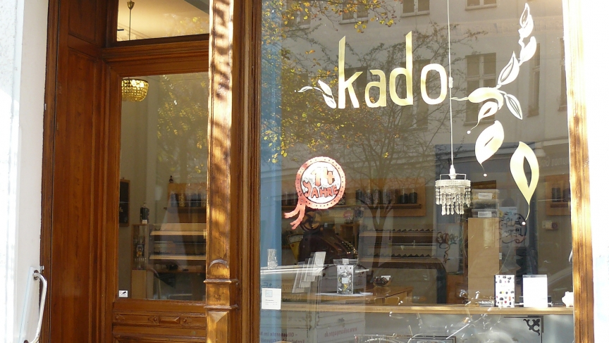 The Kado licorice shop in Graefekiez, Berlin.