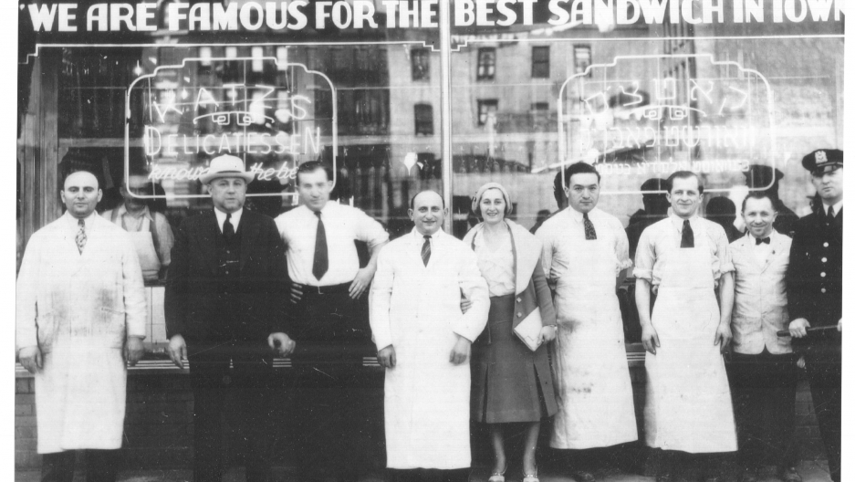 In 1888 Katz's Deli was the first Jewish American delicatessen to open in New York.