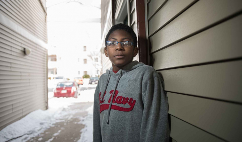 Kayleb Moon-Robinson — who is diagnosed as autistic — had barely started sixth grade last fall in Lynchburg, Virginia, when a school resource officer filed charges against him. Kayleb was charged with disorderly conduct for kicking over a trash can and th