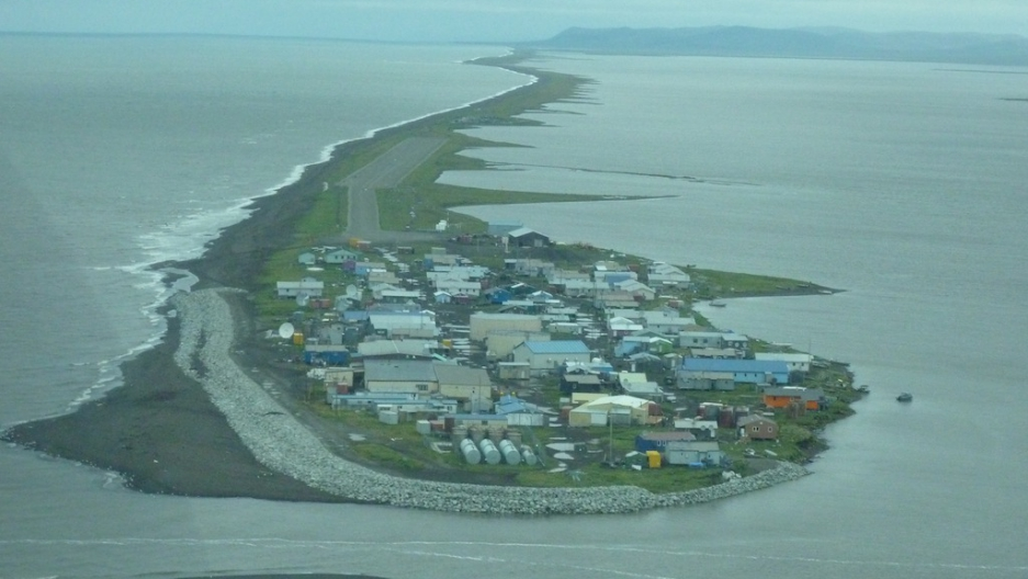 Alaska Seeks Federal Money To Move A Village Threatened By