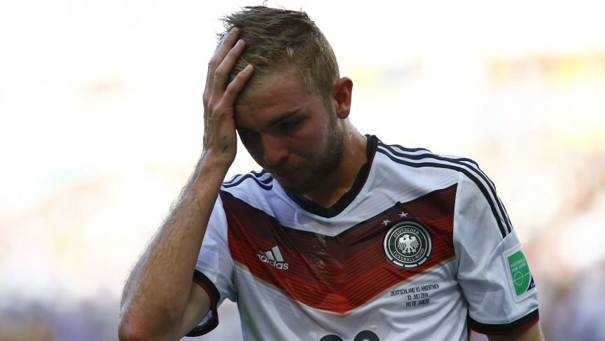 Germany's Christoph Kramer —concussion