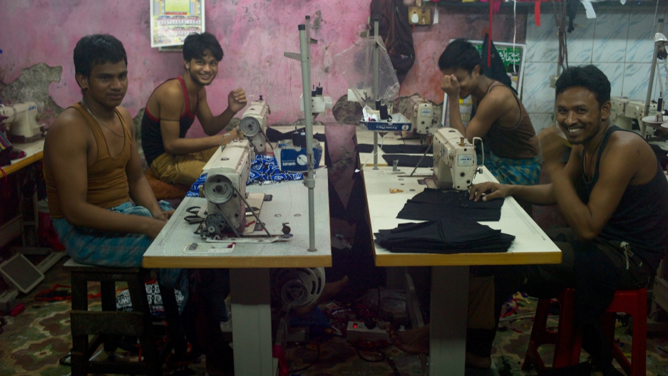 Garment shop in Mumbai