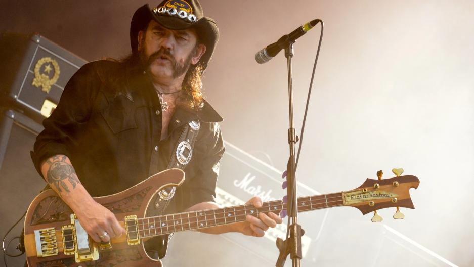Motörhead frontman and rock icon Lemmy Kilmister dies at 70