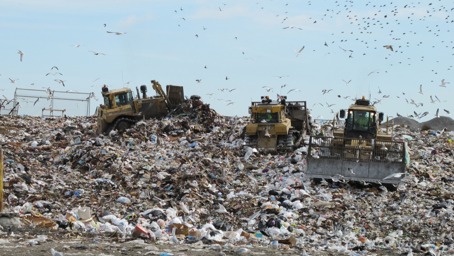 The Old Dominion landfill in Virginia. Photo by Bill McChesney/flickr/CC BY 2.0