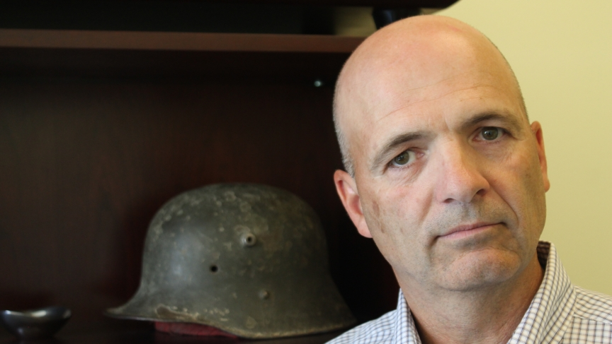 Former Special Forces Engineer Sargeant Layne Morris lost the vision in his right eye during a grenade attack in Afghanistan in 2002. He's now suing the former Guantanamo detainee who threw the grenade.