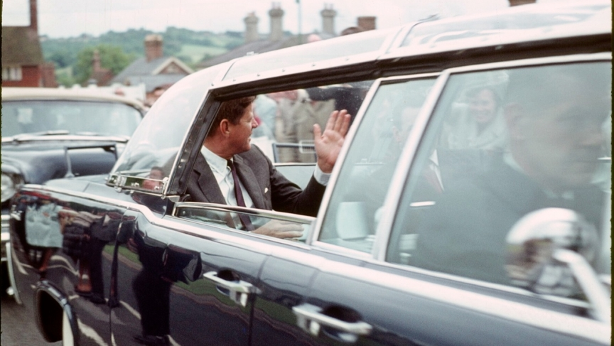 Lifelong Forest  Row resident Harold Waters got very close to President Kennedy to take this photo in June 1963.