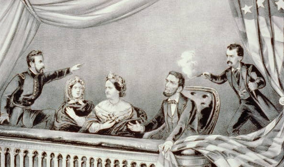 The assassination of President Lincoln: at Ford's Theatre, Washington, DC, April 14th, 1865.