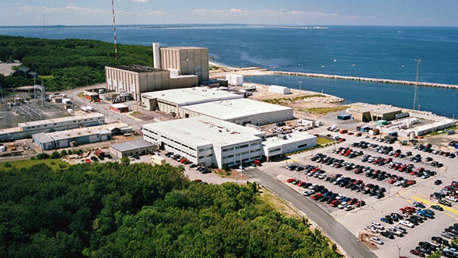 Pilgrim nuclear plant
