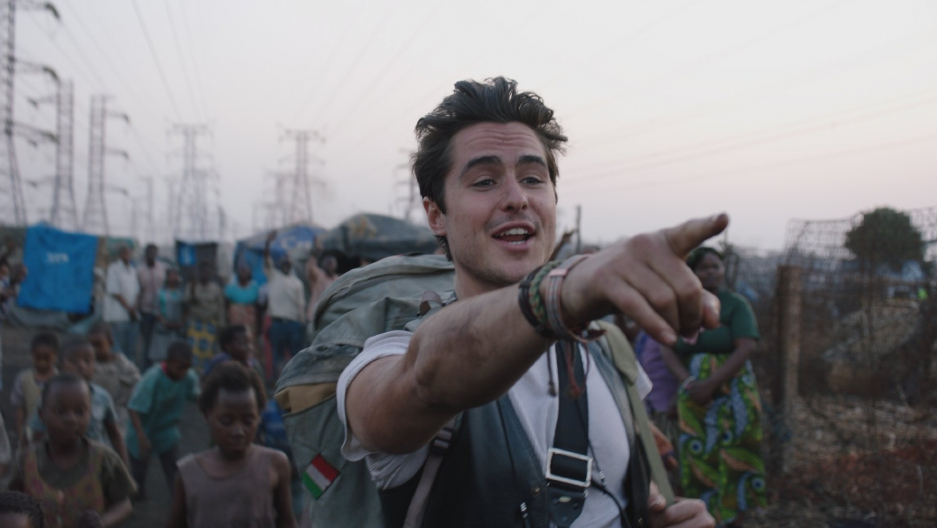 Actor Ben Schnetzer plays photojournalist Dan Eldon in the bio-pic The Journey is the Destination.