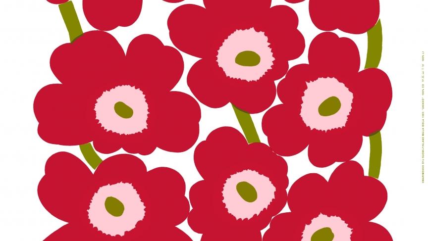 Finnish design fhop Marimekko celebrates 50th anniversary of Unikko design
