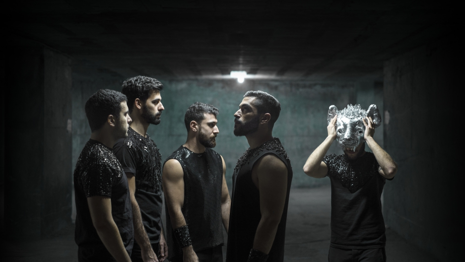 The Beirut-based indie-rock band Mashrou' Leila.