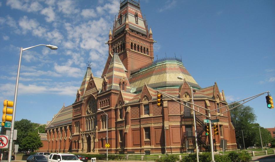 Memorial Hall, Harvard University, Cambridge, Massachusetts, USA.
