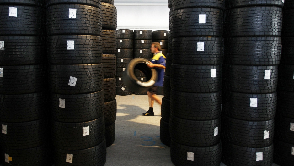 "Michelin is committing to ""responsible and sustainable management of natural rubber"" for its tires."