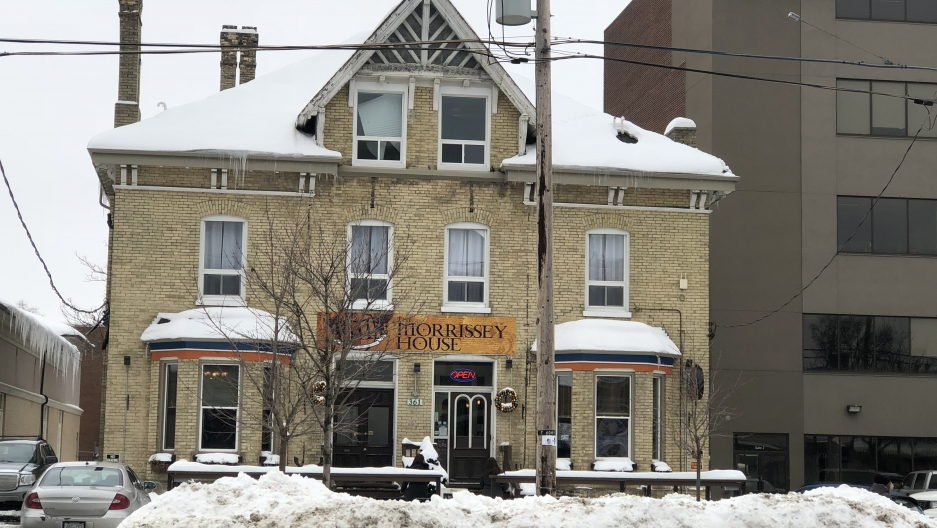 "The pub in London, Ontario, at the center of the ""Mind the Gap"" gender spat"