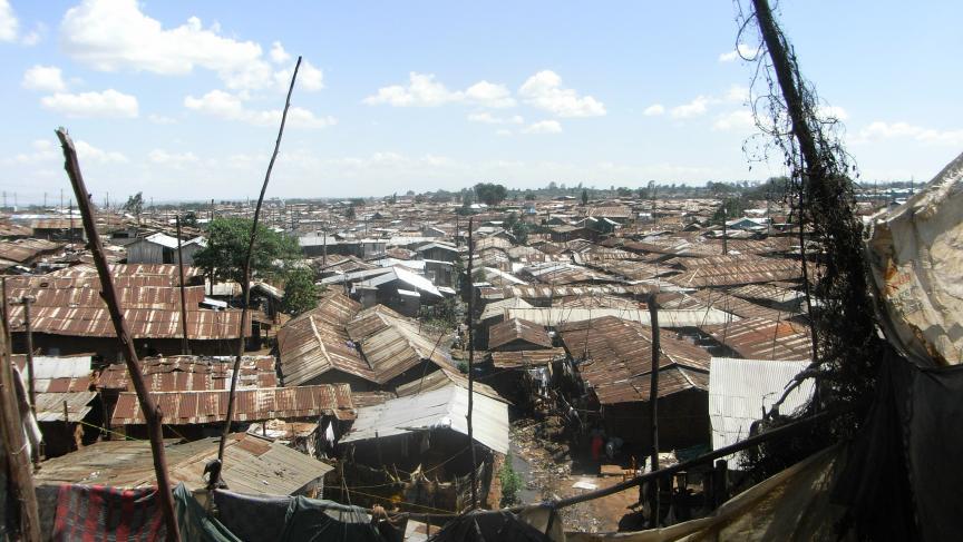 Nairobi's Kibera Slum