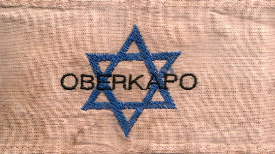 "The armband of a chief kapo, or ""oberkapo"" in a Nazi concentration camp"