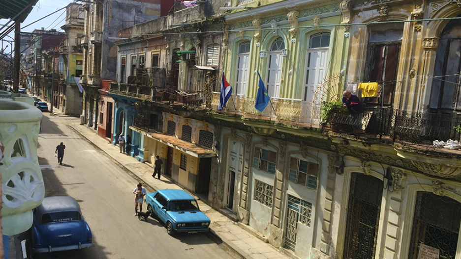 Havana's city center in January 2016.