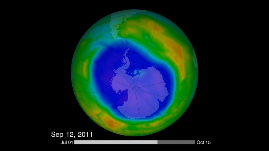 paragraph on ozone layer