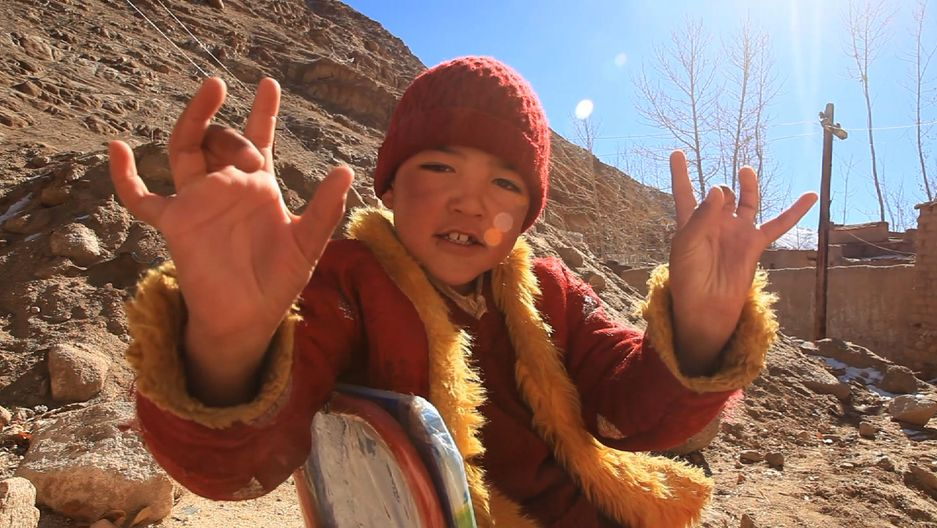 Padma Angdu was anointed as a Tibetan Buddhist rinpoche, or enlightened being, in 2010. He was 6 years old at the time.