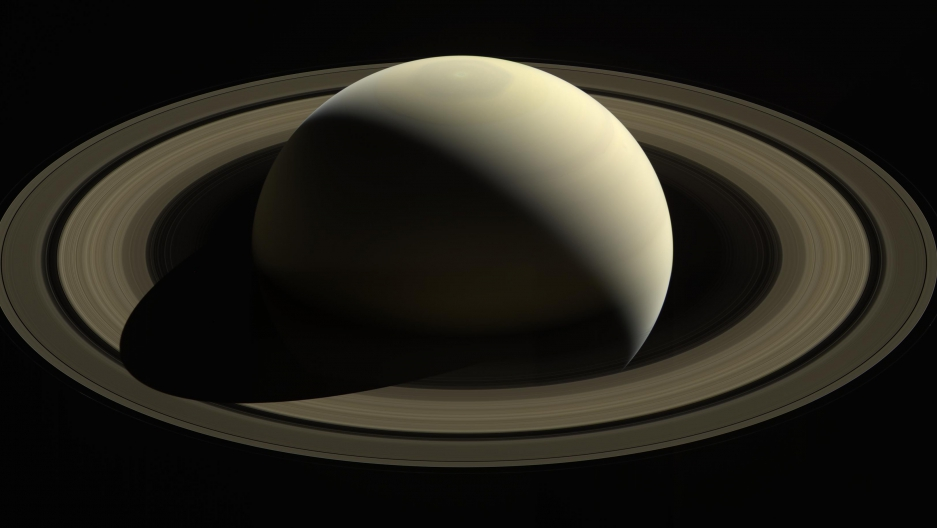 Saturn has been Cassini's home for 13 years.