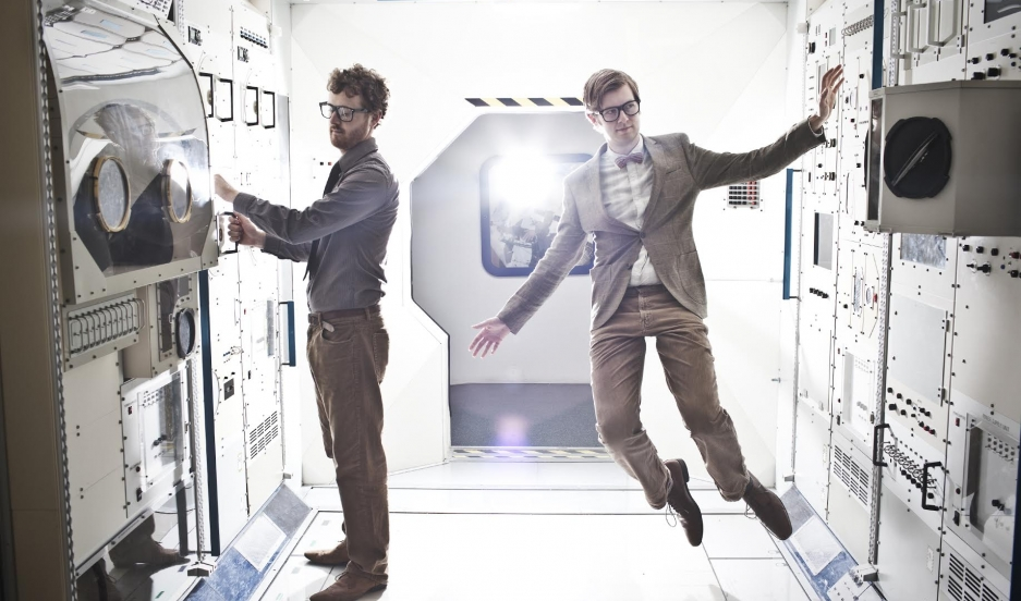 British music duo Public Service Broadcasting.