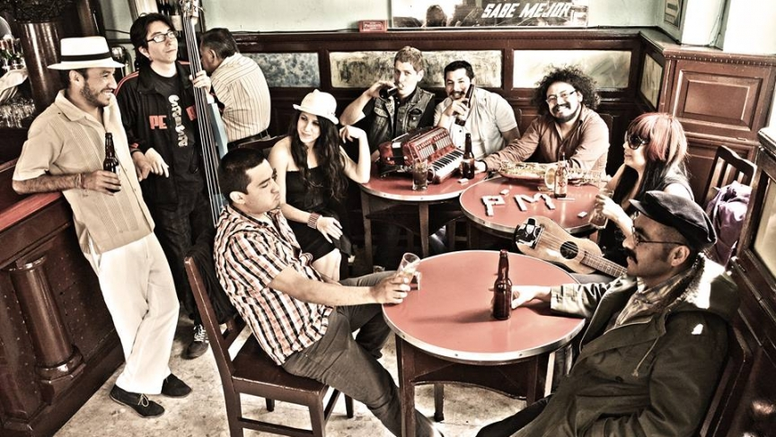The Mexican Balkan music band, Polka Madre