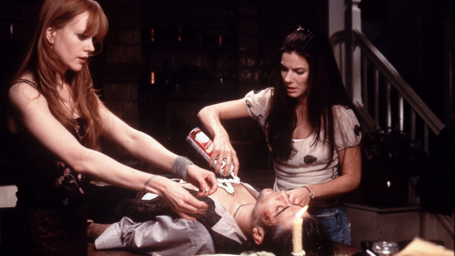 "Nicole Kidman and Sandra Bullock in ""Practical Magic"""