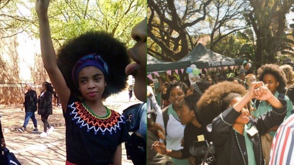 Until Recently This School In South Africa Told Black Girls To