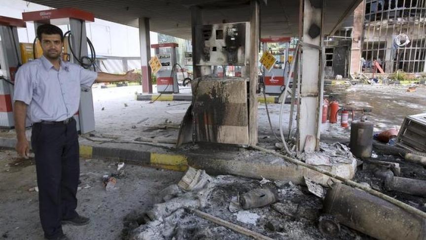 Gas station in Tehran