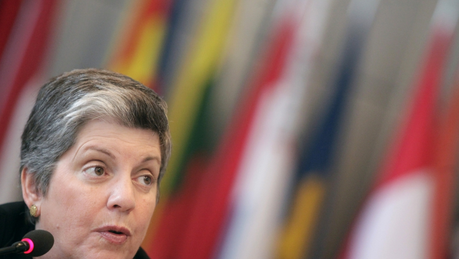 Janet Napolitano, former US Secretary of Homeland Security, in 2011.