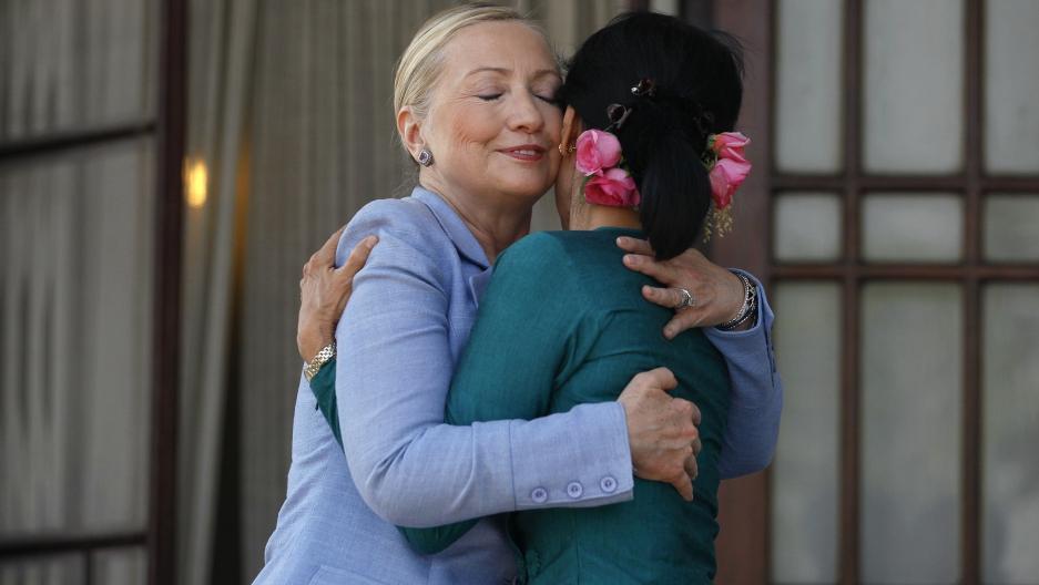 Hillary Clinton's role among women