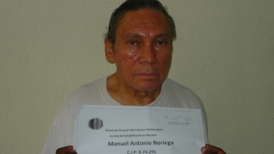 Manuel Noriega, Panama's former dictator, when he was 77