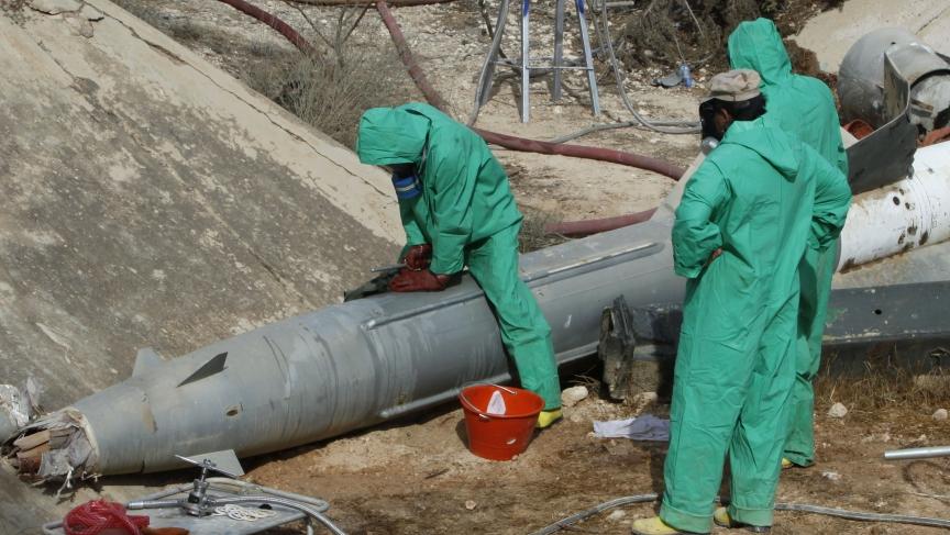 Libya chemical weapons